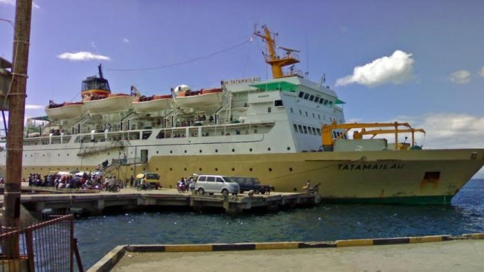 Photo of KM Tatamailau Ship. Photo taken from Google